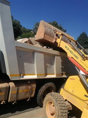 Graders, Tippers, Front end loaders and more Available for Hire - Midrand