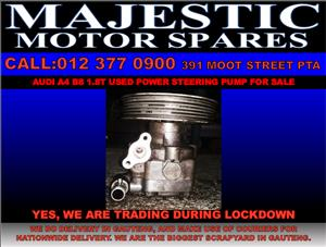 Audi a4 b8 1.8t used power steering pump for sale