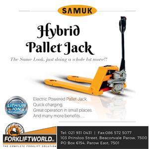 Hybrid Pallet Jack