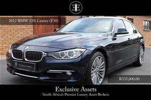 2012 BMW 3 Series 335i Luxury
