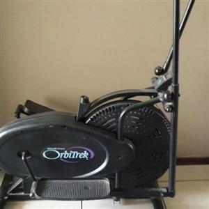Orbitrek machine