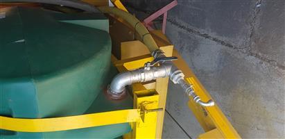 Sewage jetting machine