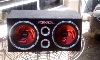 "XXX 1200"" Subs and AMp"