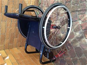 Rollability rigid wheelchair