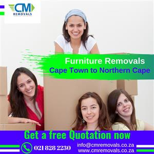 Furniture Removals from Cape Town to Free State  0798010735/0218282230