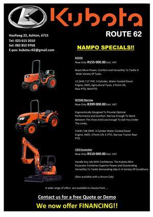 2019 Kubota Nampo Specials