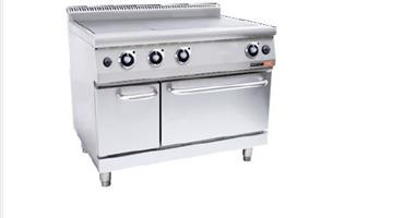 ANVIL 3 PLATE STOVE WITH OVEN - GAS-COA3003