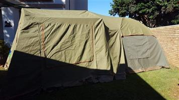Senior Wanderer bow tent plus extension