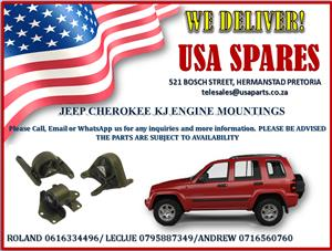 JEEP CHEROKEE KJ ENGINE MOUNTINGS
