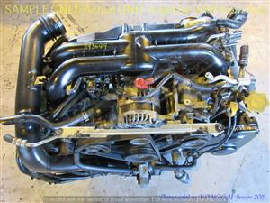 SUBARU EJ25 2.5L SINGLE TURBO D/VVTI Plastic Intake Engine