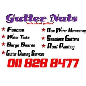 Gutter Installation, Gutter Cleaning, Roof Paint, Gutter Guards, Water proofing, Seamless BB, Fascia