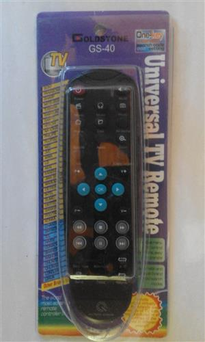 Universal TV Remote Controls. Assorted. R99 each.  am in Orange Grove.