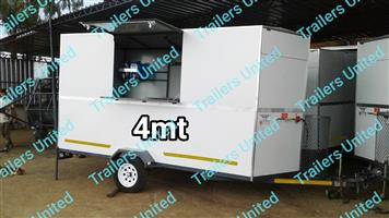 4mt mobile kitchen food trailer