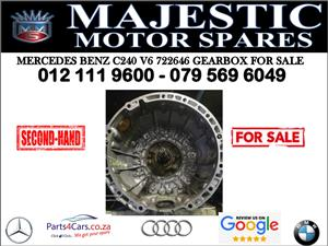 Mercedes benz C250 V6 gearbox for sale