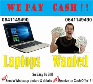 Laptops , notebooks,  Needed,