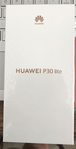 Huawei P30 Lite 128GB dual sim midnight black, Sealed.