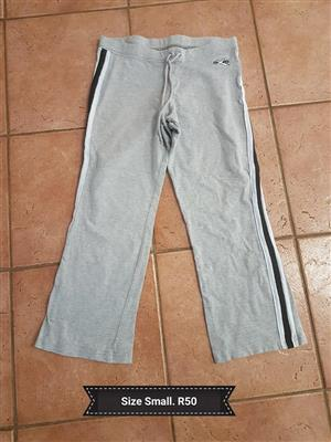 Size small grey tracksuit pants
