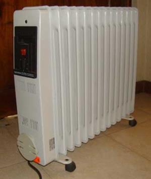 Novex 14 fin oil heater