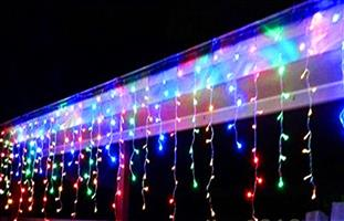 LED Decorative Fairy Curtain Lights Waterproof 220V AC in RGB. Brand New Products.