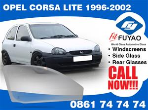 Brand new side door glass for Opel Corsa Lite 1996-2002 #17288