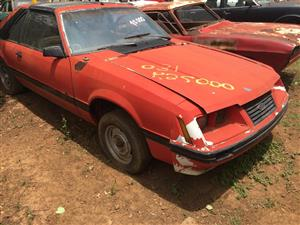 For Sale: 1 x 1981 Ford Foxy Mustang