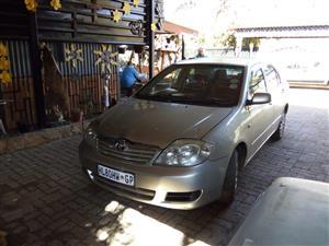 2007 Toyota Corolla 1.4 Professional