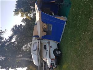 3x3 m kombi camper side tent
