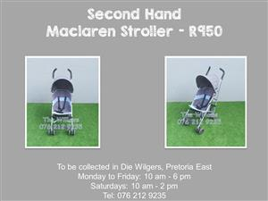 Second Hand Maclaren Stroller