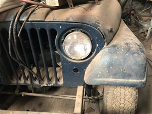 1967 Jeep CJ6 army spec