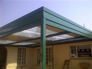 Shadeports and Carports - new, repairs and maintenance