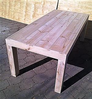 Patio table Chunky Farmhouse series 2100 Raw