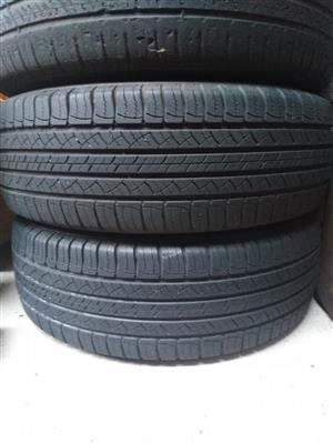 Michelin 225/65/17 Tyres