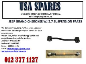 JEEP GRAND CHEROKEE WJ 2.7 SUSPENSION PARTS FOR SALE.