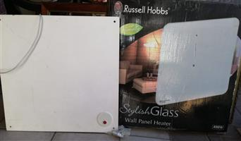 Stylish glass wall panel heater for sale