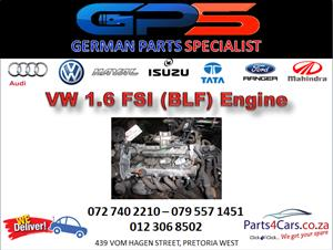 VW 1.6 FSI (BLF) Engine for Sale
