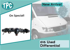Mercedes Benz Sprinter 616 Used Differential For Sale at TPC