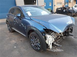2017 Mazda CX-3 2.0 INDIVIDUAL A/T Accident Damaged