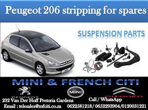 BIG PROMOTION ON Peugeot 206 / 206cc SUSPENSION PARTS