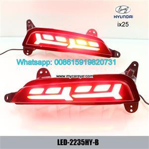 Hyundai ix25 Auto LED Rear Bumper Brake Turn Signal Lights
