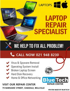 Laptop Repair Services / BLUETECH Computers