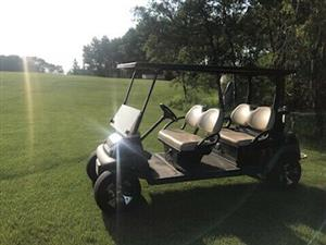 Club Car limo golf cart