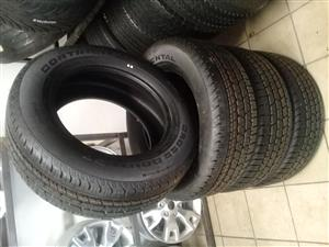 265/60/18 continental cross contact 4x new tyres for your bakkie or SUV ,r6199