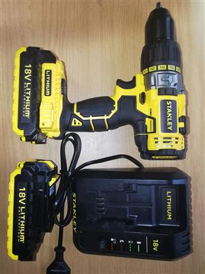 Stanley 18V Hammer Drill 13mm *2ah* Retail for R3600.