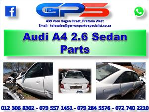 Used Audi A4 2.6 Sedan 1999 Parts for Sale