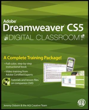 Dreamweaver CS5 Digital Classroom Textbook + CD
