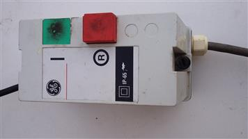 Electrical 380v Plug and switches