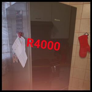 Double door Hisense fridge