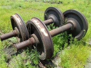 300 Ton Wheel Sets - Uitenhage - ON AUCTION