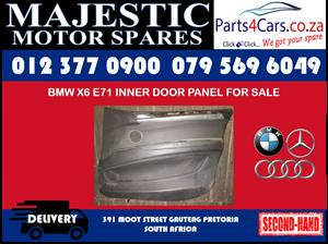 Bmw E71 X6 door panel for sale used spares for sale
