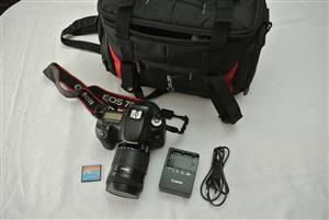Canon 7D + 18-135mm Lens